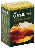 Чай Greenfield Golden Ceylon чёрный 100 г